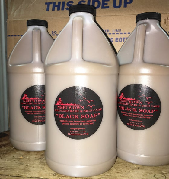 Image of Liquid African Black Soap