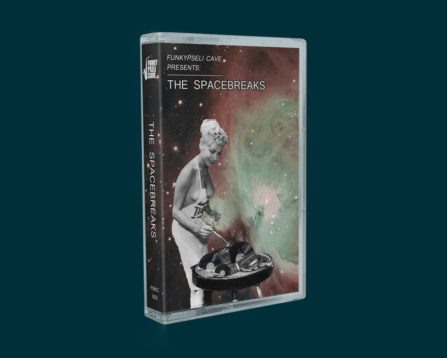 Image of Funkypseli Cave presents: The Spacebreaks (Cassette)