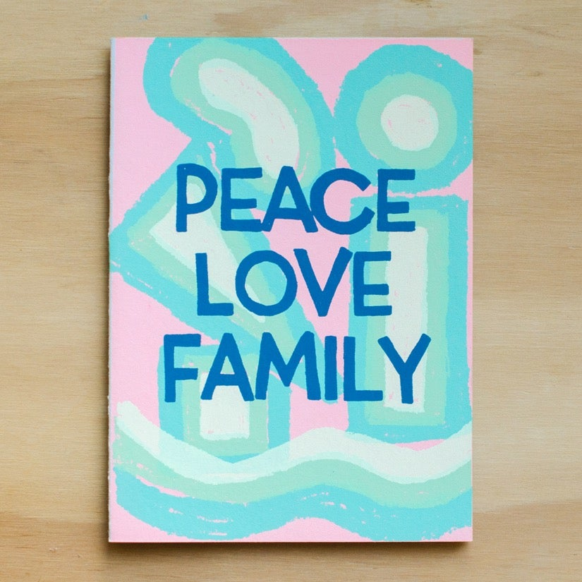 Image of Peace Love Family