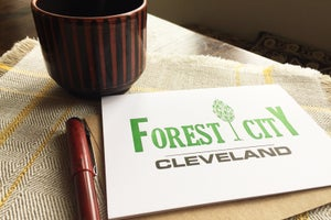 Image of Forest City Cleveland Notecard