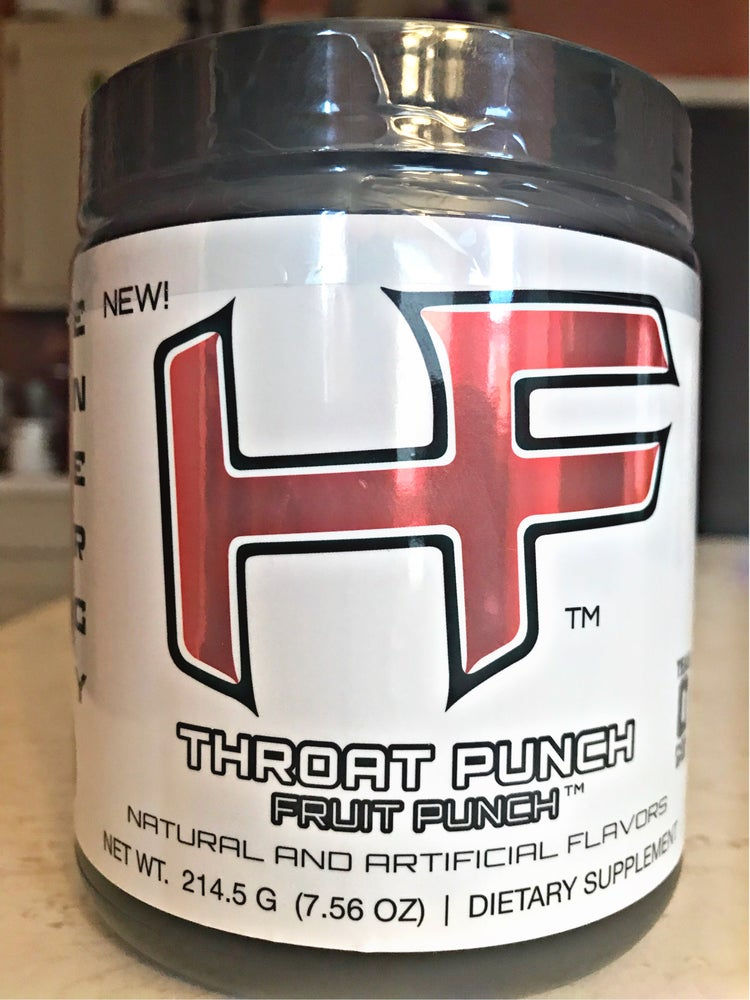 "Image of ""THROAT PUNCH FRUIT PUNCH"" Pre-Workout NOW AVAILABLE!!!"