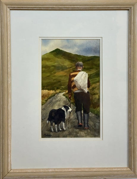 Image of Untitled: Hiker and Dog