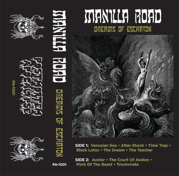 "Image of Manilla Road ""Dreams Of Eschaton"" CS /// PA-1001"