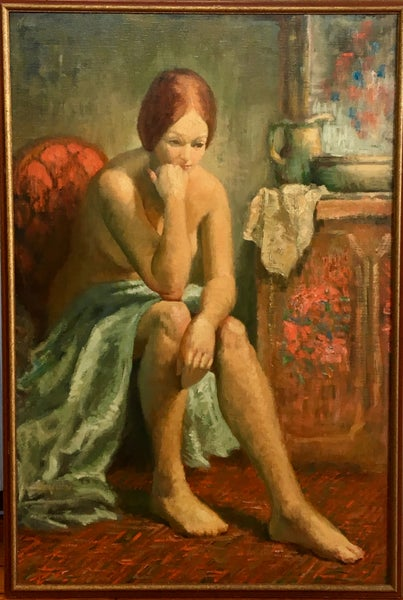 Image of Untitled: Young Woman at her Morning Toilet