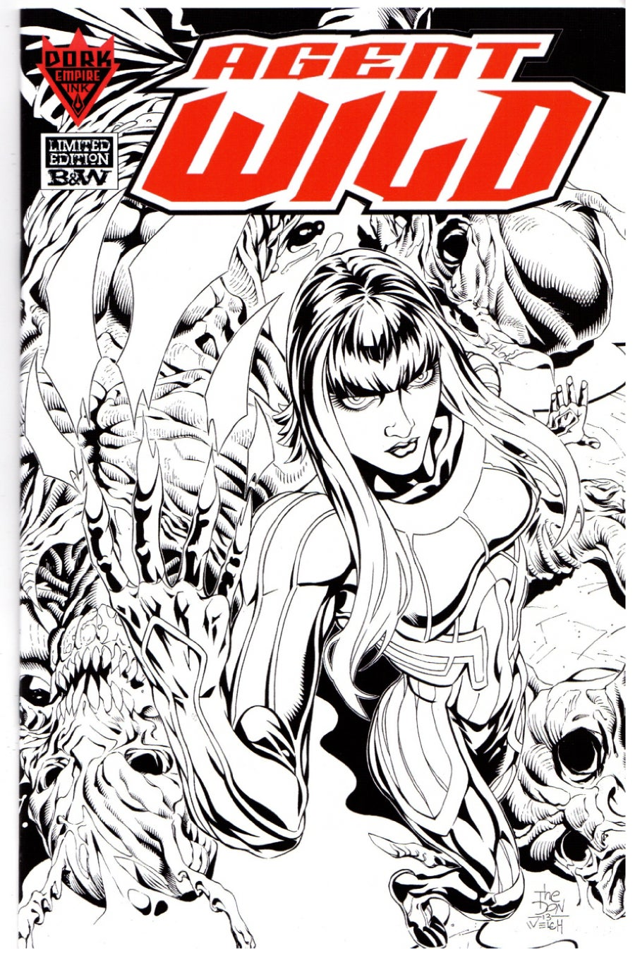 Image of AGENT WILD #0 / Limited Edition B&W