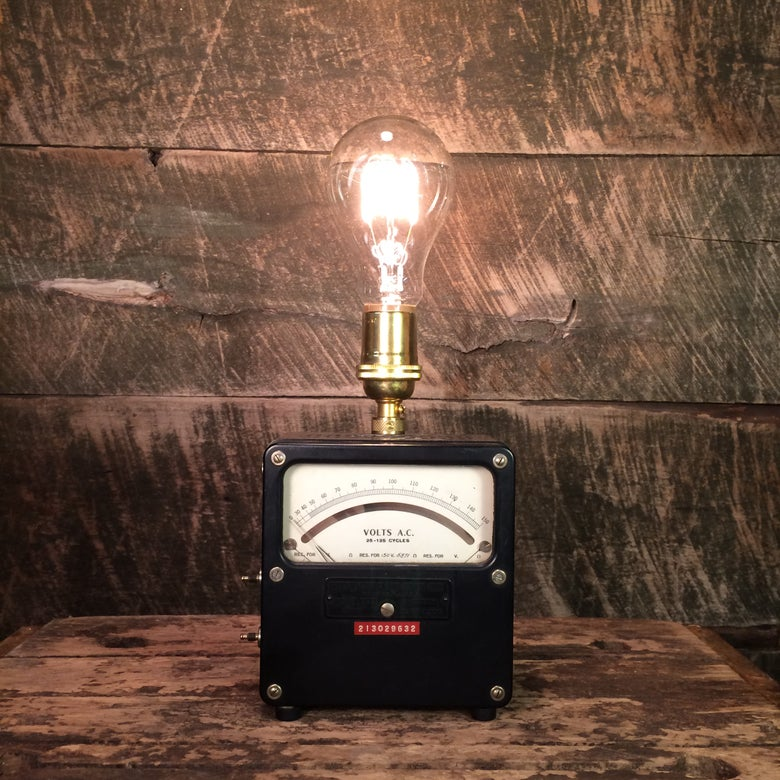 Image of Analog Voltmeter Lamp