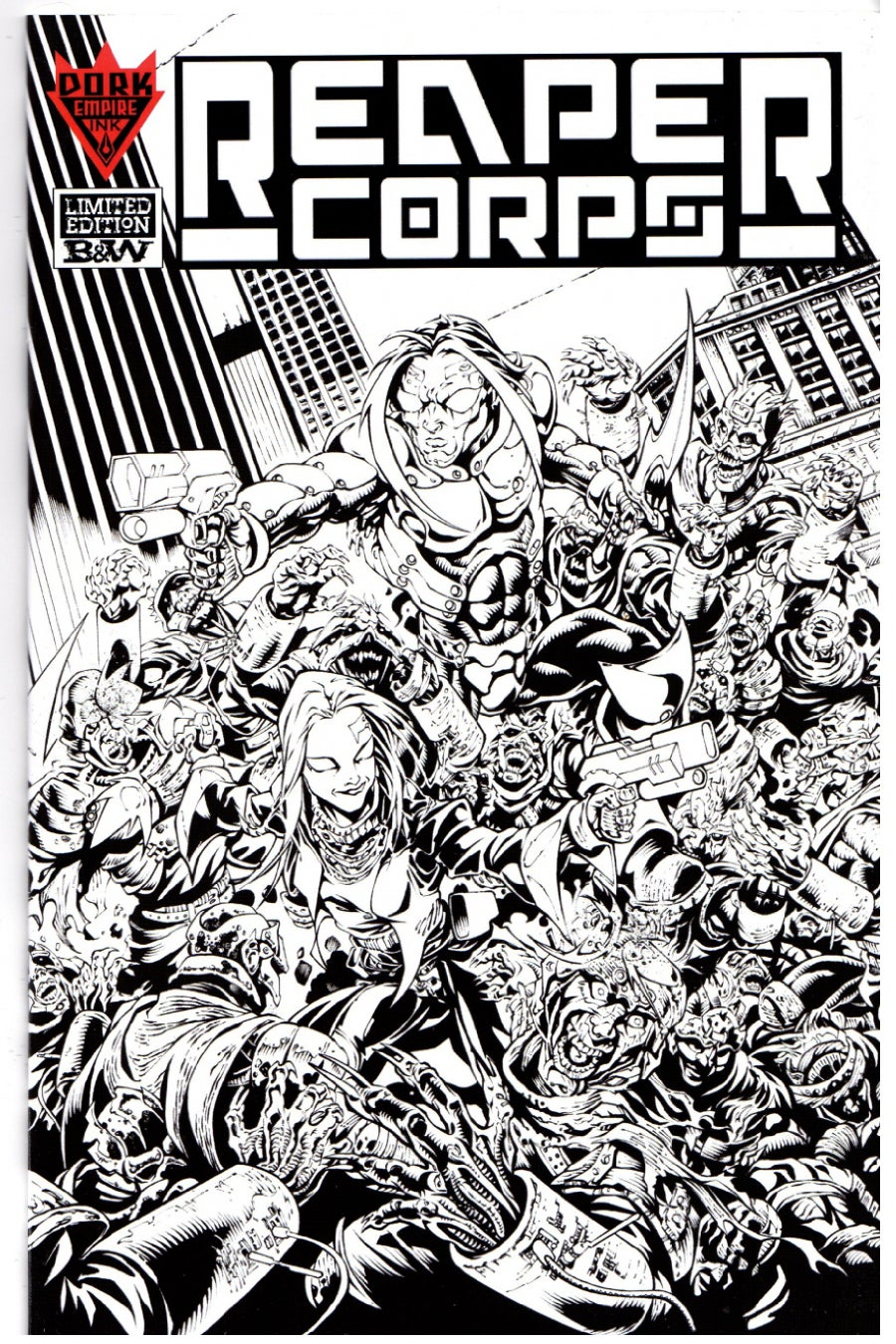 Image of REAPER CORPS #0 Limited Edition B&W