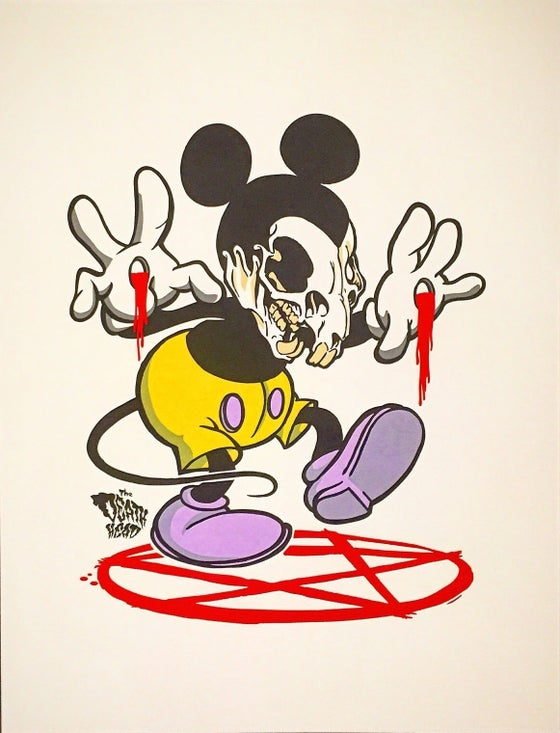 Image of Death Mickey Prints