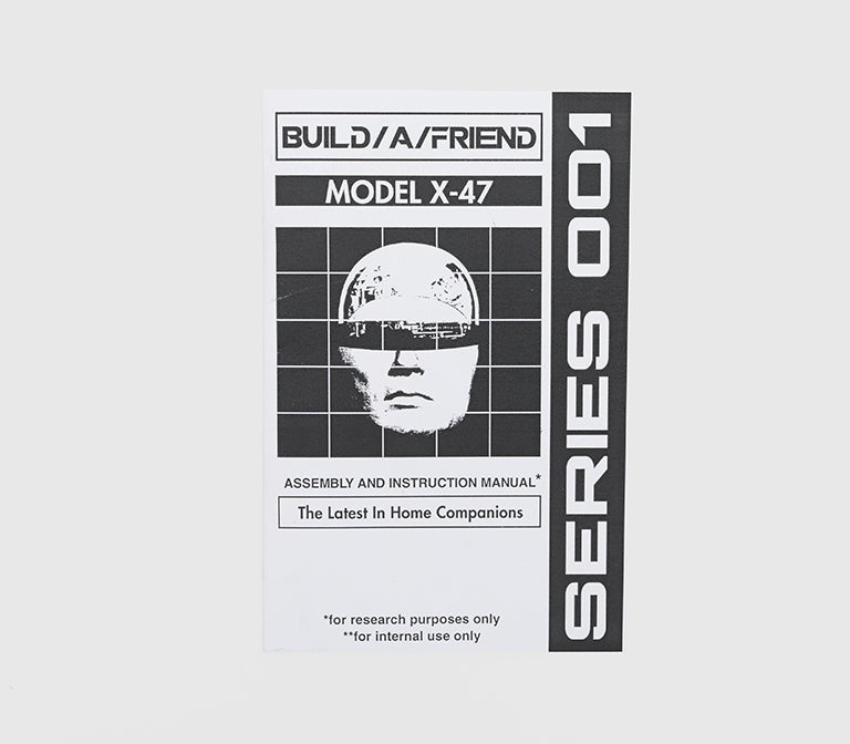Image of Build/A/Friend: Series 001 Zine