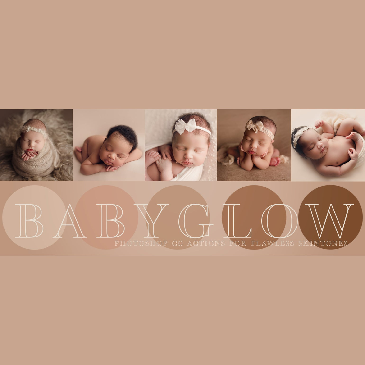 Image of Baby Glow Photoshop CC Actions