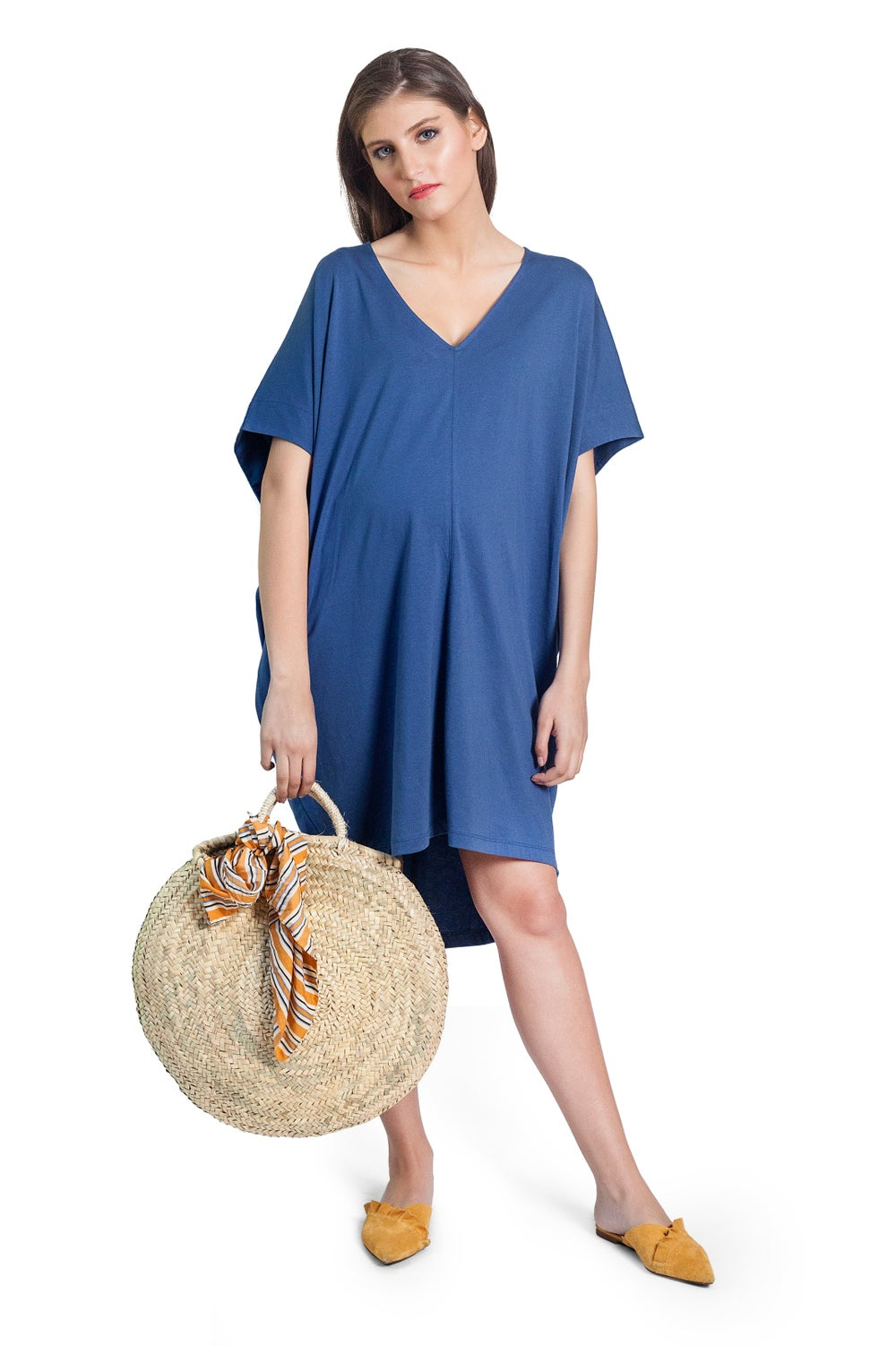 Image of BLISS TUNIC AZUL SALE CLP $18.000