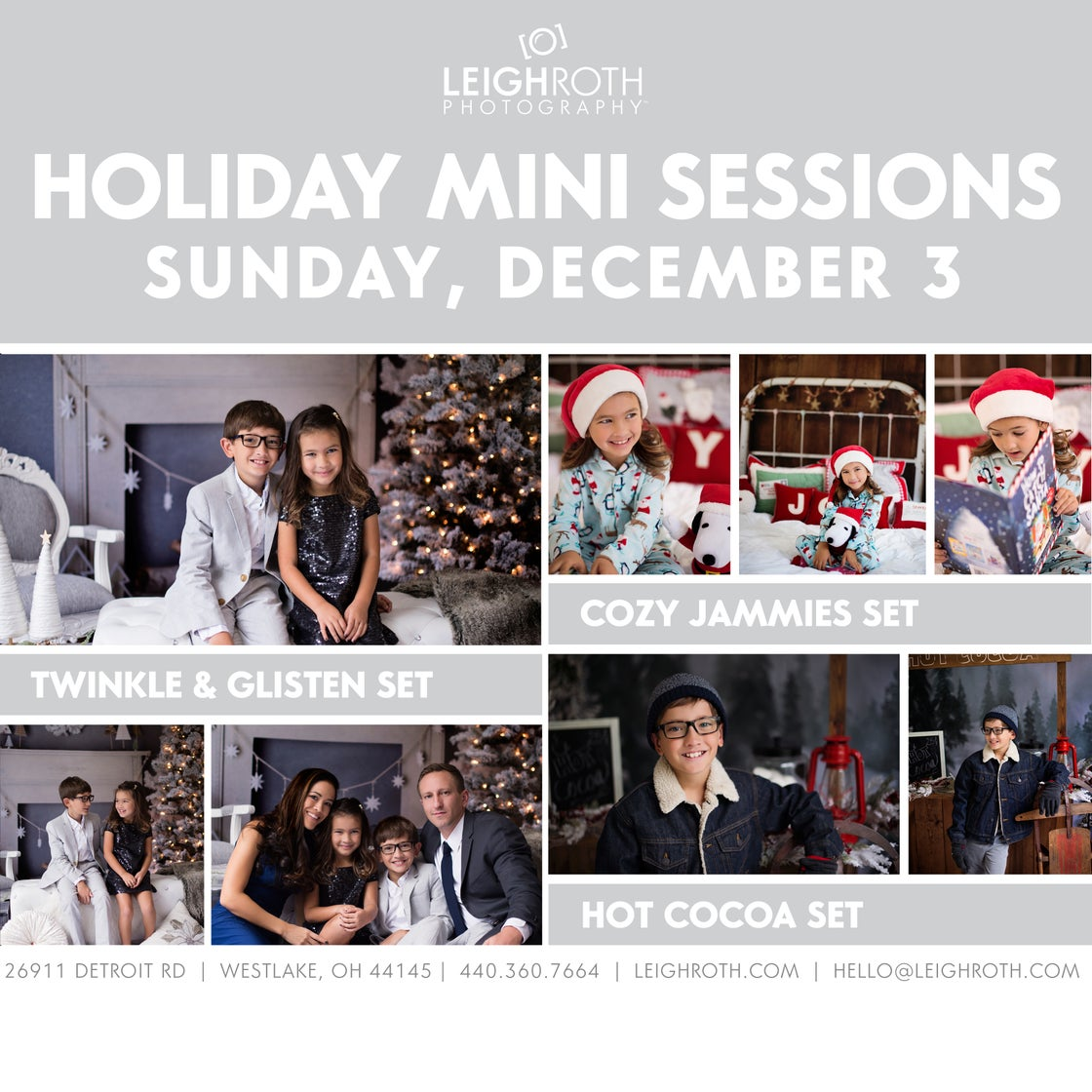 Image of 2017 HOLIDAY MINI SESSION - DECEMBER 3