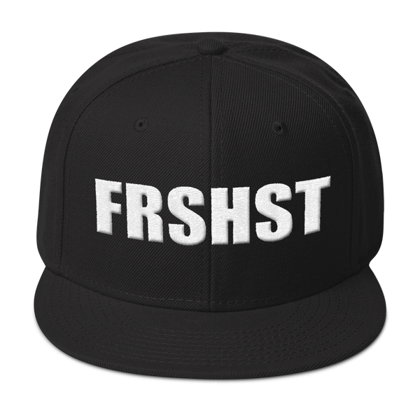 "Image of ""FRSHST"" Emroidered Hat"