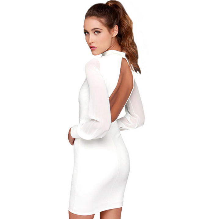 Image of Hot style backpacker hip dress