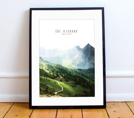 Image of Col d'Izoard giclée A4 print - by Ange Steppah