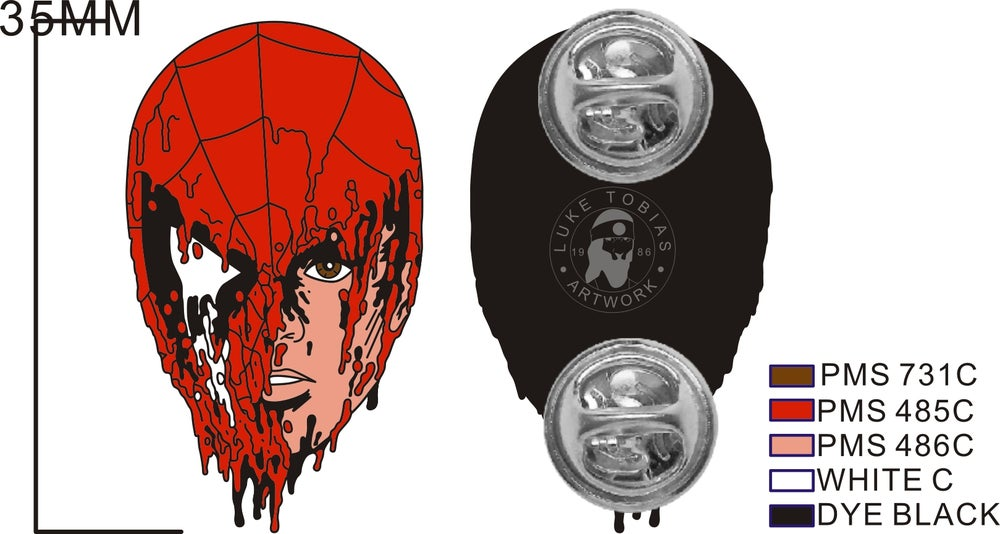 Image of Spider-Melt Soft Enamel Pin