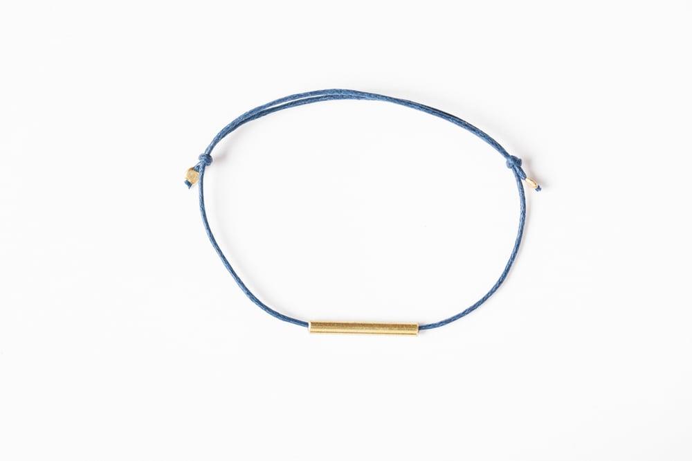 Image of Brass Tube Bracelet