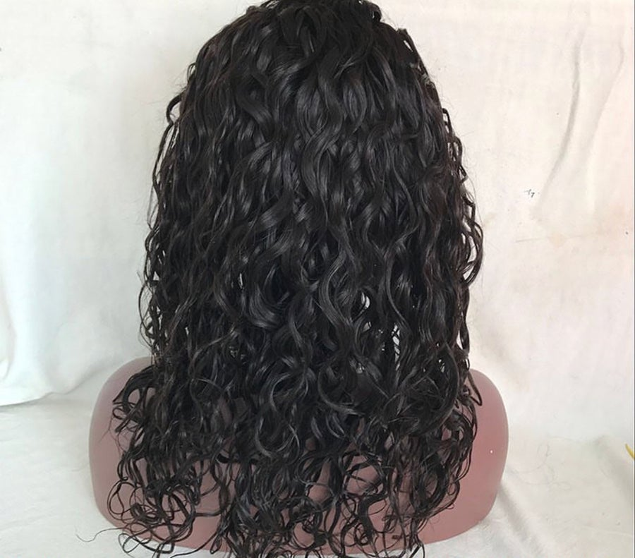 Image of Water wave lace front wig