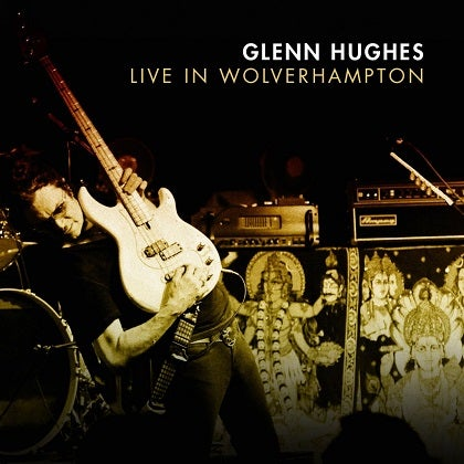 Image of GLENN HUGHES - Live In Wolverhampton - Édition 2 CD Jewelcase