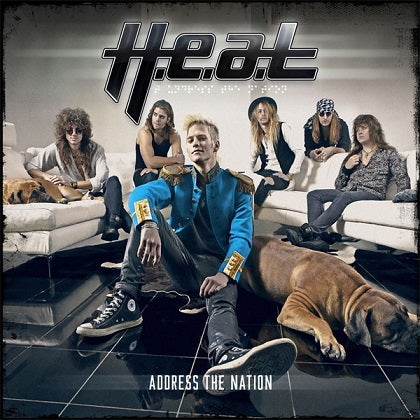 Image of H.E.A.T - Address The Nation - Edition CD Jewelcase