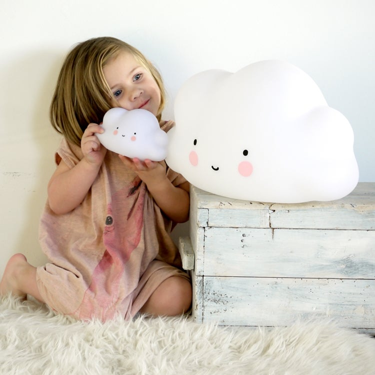 A Little Lovely Company Big Cloud Light   London Mummy   Stylish, luxury  baby gifts
