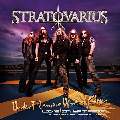 Image of STRATOVARIUS - Under Flaming Winter Skies - Live in Tampere - Edition Blu-Ray