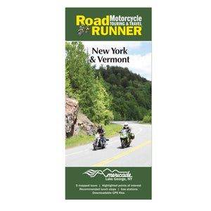 Image of New York & Vermont Road Map