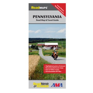 Image of Pennsylvania State Road Map