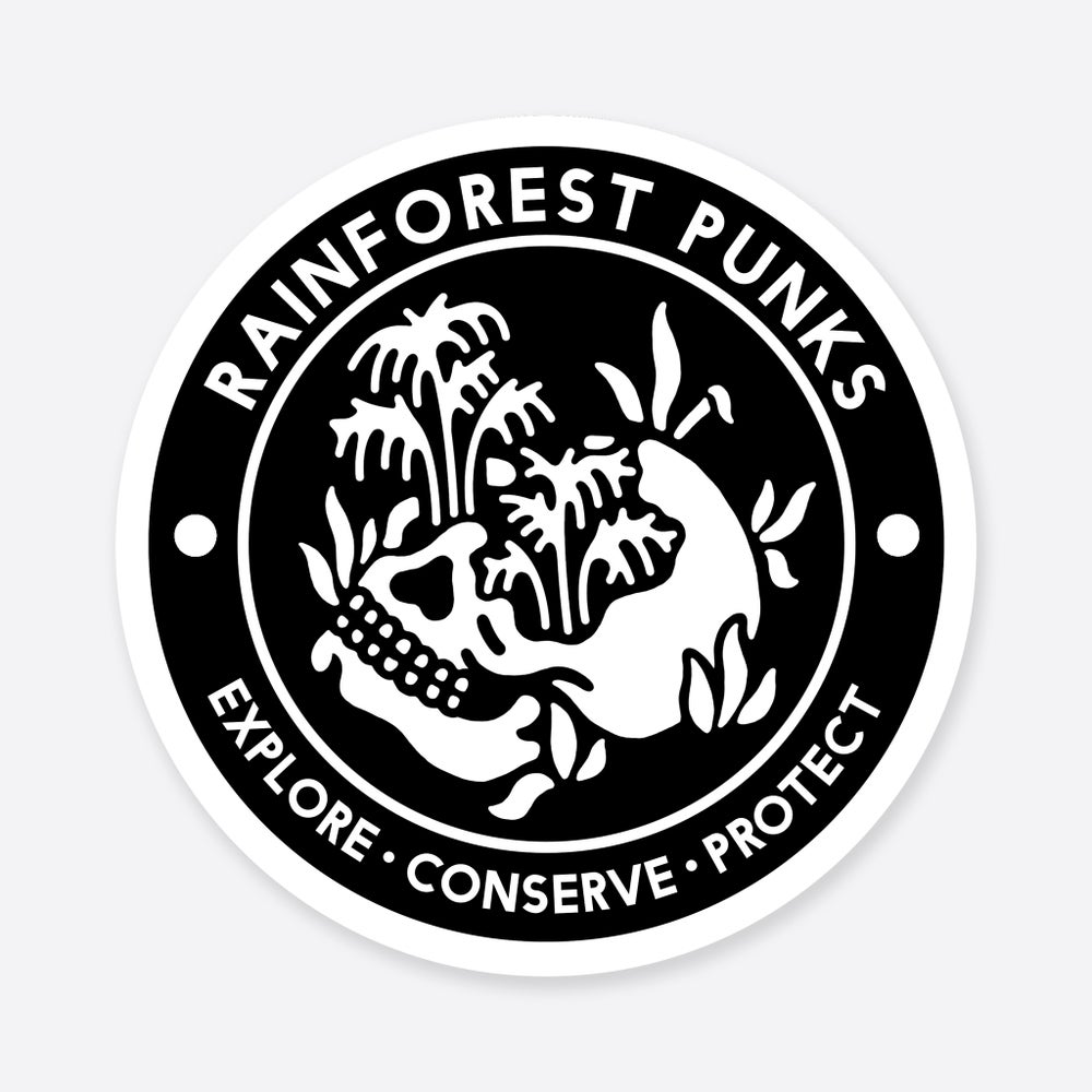 Image of 'Rainforest Punks' Patch