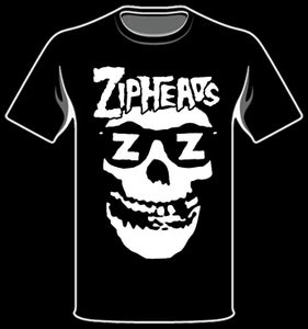 Image of LIMITED EDITION MISFITS STYLE ZIPHEAD TEE