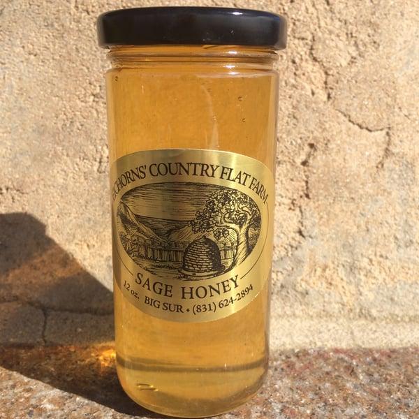 Image of Big Sur Sage Honey - Case of 6 - 12oz. jars SOLD OUT TILL JUNE, 2021