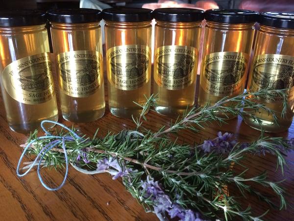 Image of Big Sur Sage Honey - Case of 12 - 12oz jars SOLD OUT TILL JUNE, 2021