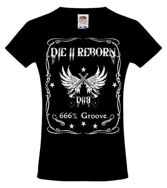 Image of DIE II REBORN GIRLIE SHIRT