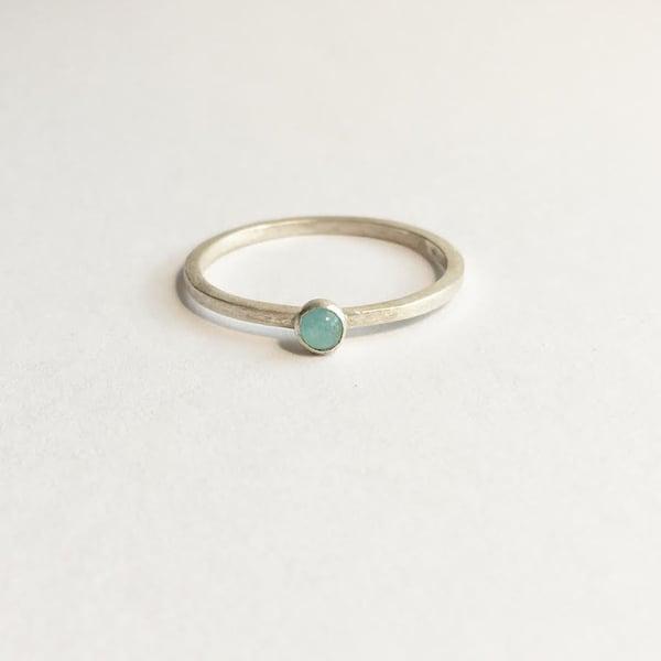 Image of Amazonite ring