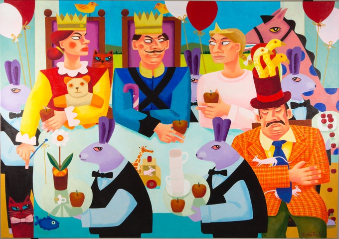 Image of THE KING'S TEA PARTY