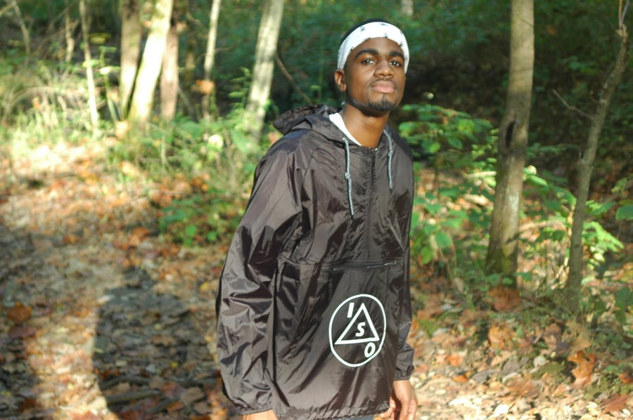Image of Cascades Black Zip Pullover