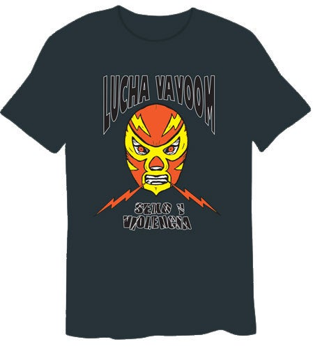 Image of  Lightning Luchador T-Shirt