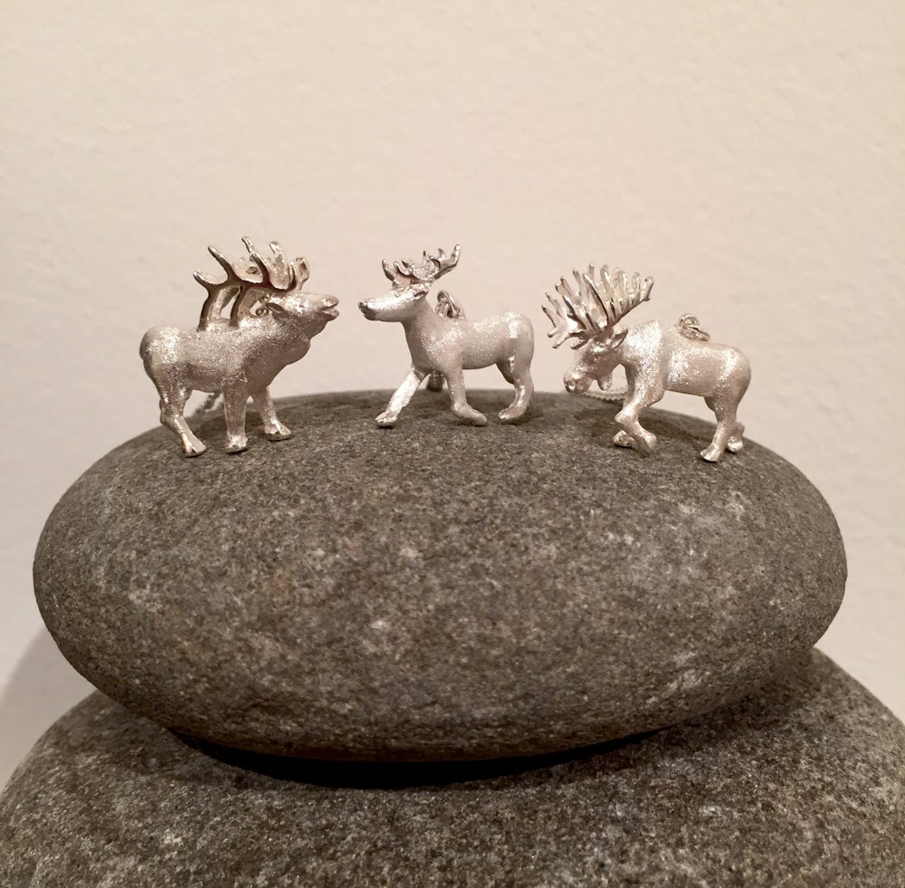 Image of Elk, Moose & Reindeer Pendants