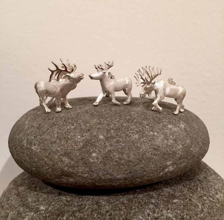 Image of Animals with Antlers Pendants