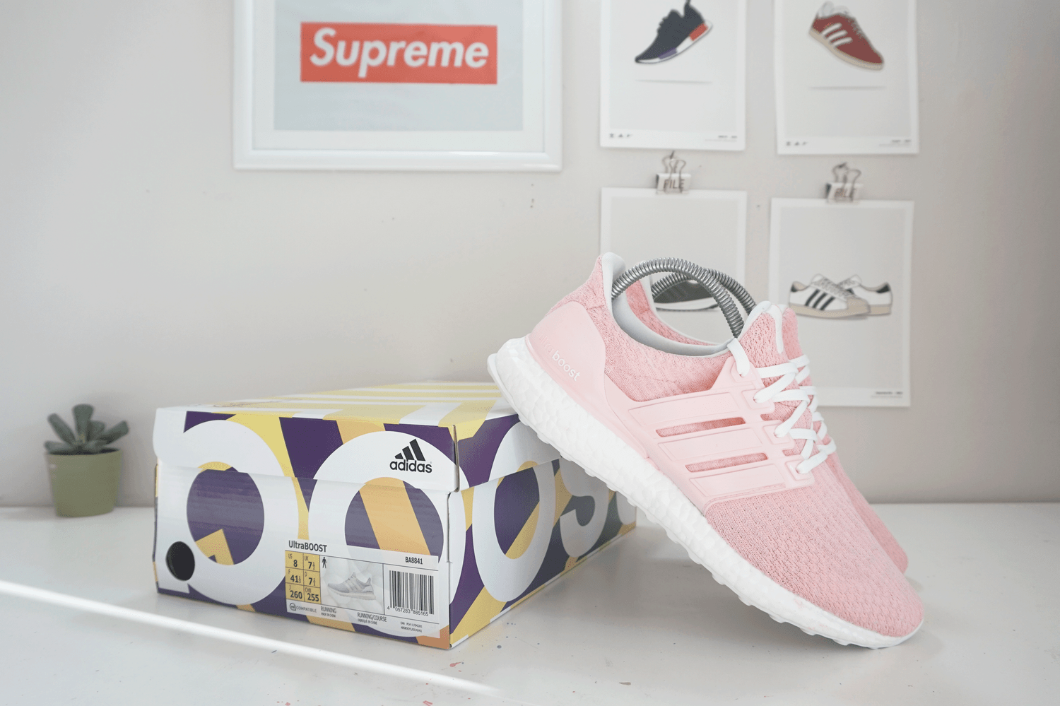 Image of Adidas Ultraboost 3.0 x Candy Floss Pink