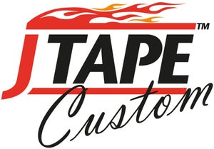 Image of JTAPE YELLOW PRECISION MASKING TAPE (STRAIGHT LINES) 18MM X 55M