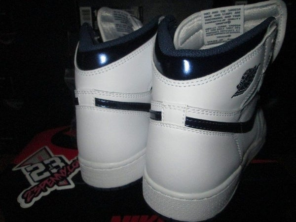 "Air Jordan I (1) Retro Hi ""Midnight Navy"" GS - areaGS - KIDS SIZE ONLY"