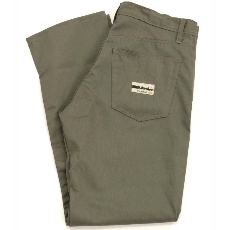 Image of MADE IN USA DOMEstics. Olive Midweight Pants