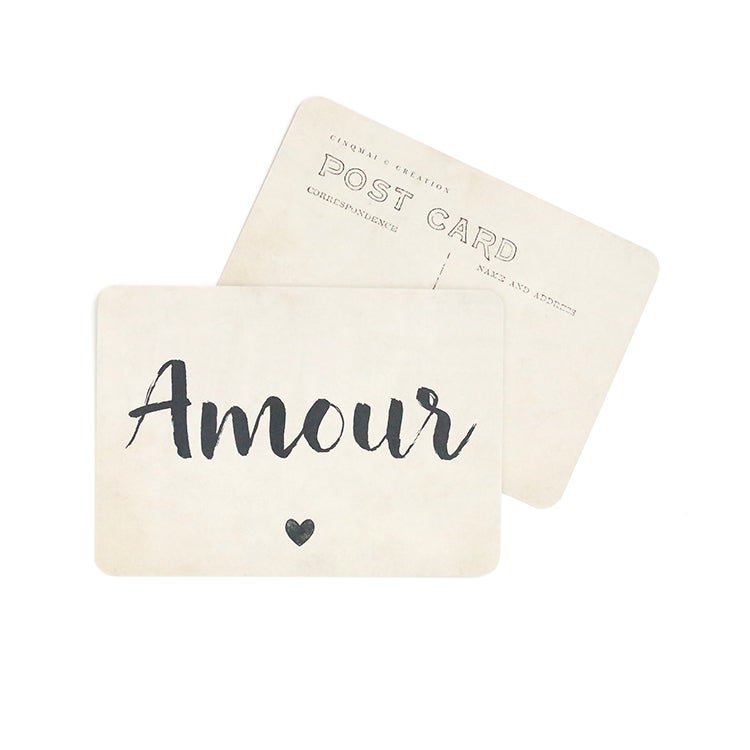 Image of Carte Postale AMOUR / JANE