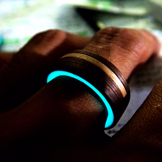 Image of Wood Portal Ring