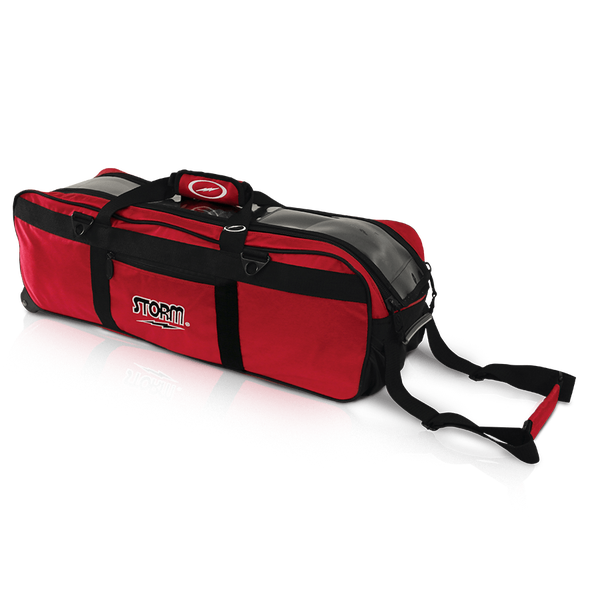 Image of Storm 3-Ball Tournament Travel Bag Red