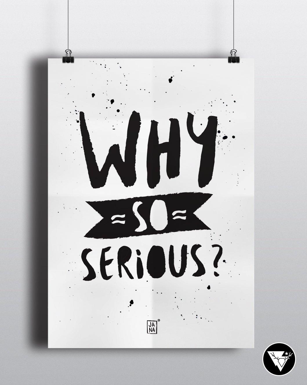 Image of Why so serious? /art print