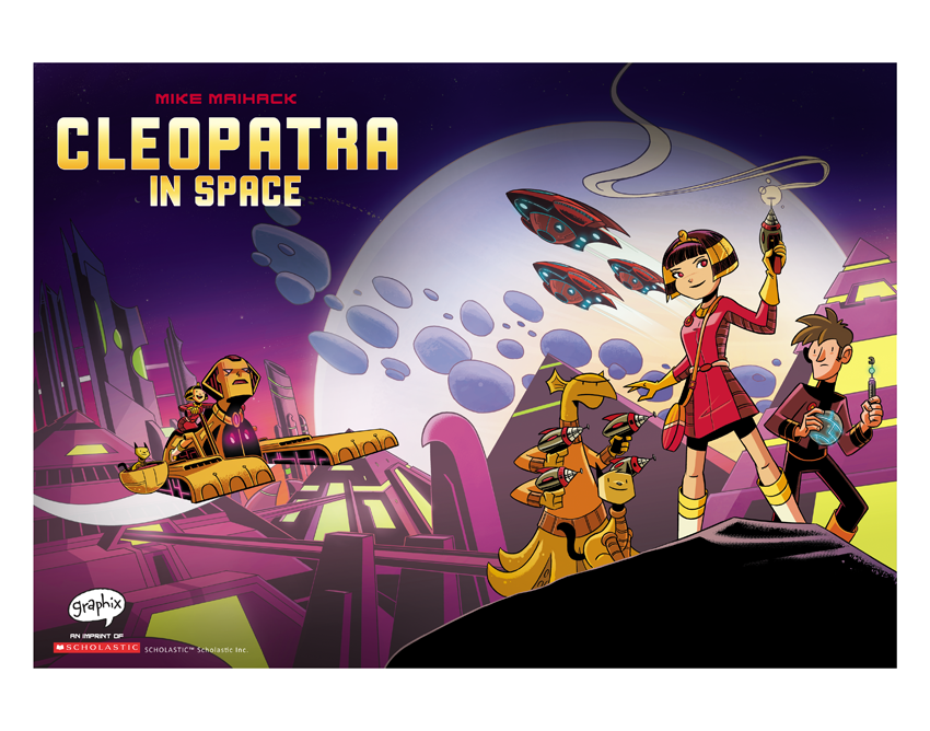Image of Cleopatra in Space #1 Cover