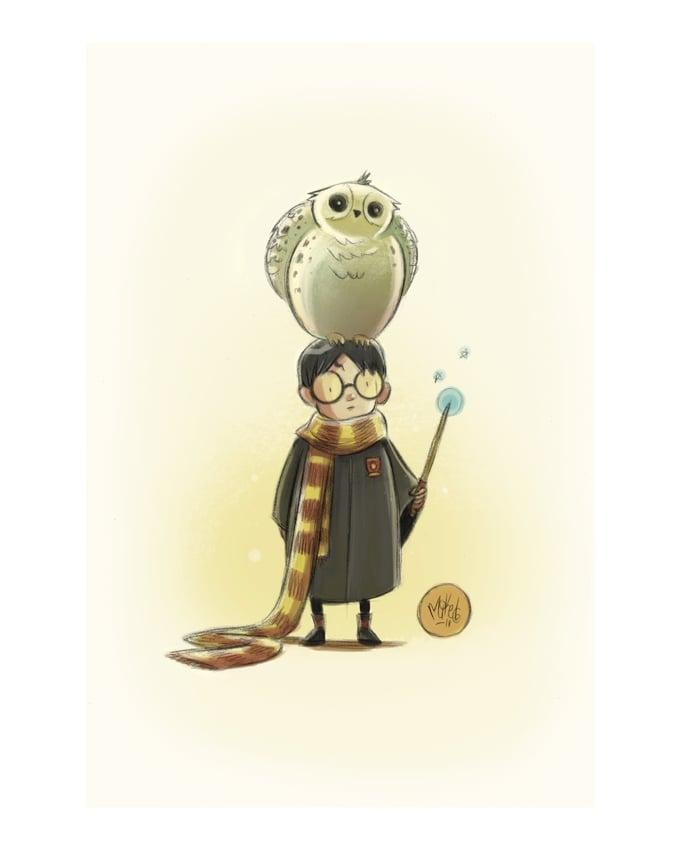 Image of Harry & Hedwig