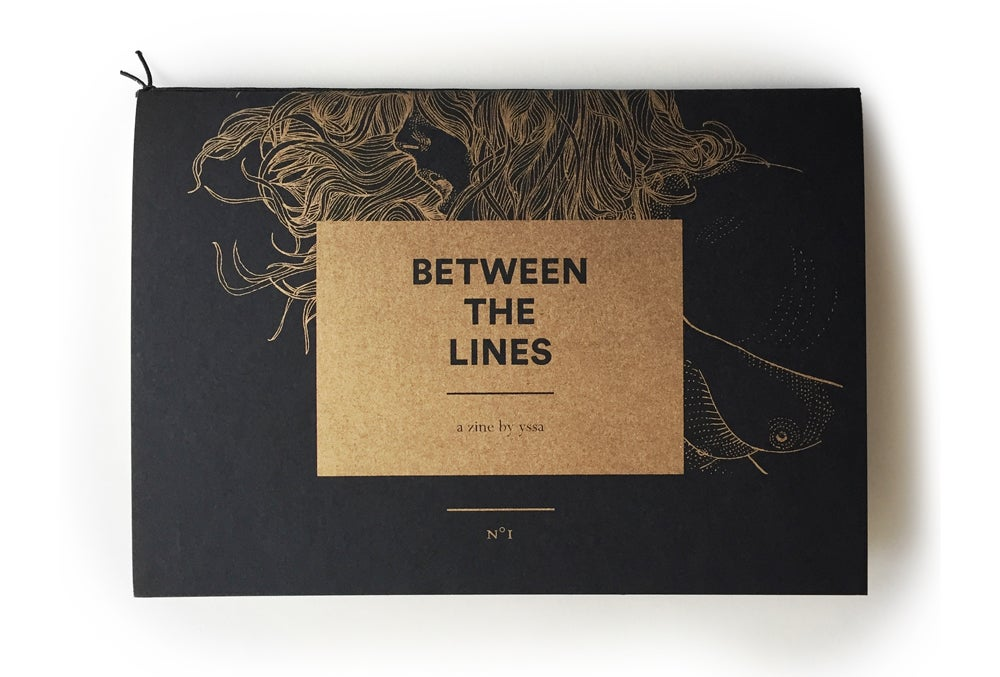 Image of Between The Lines — zine N°1 (first edition)
